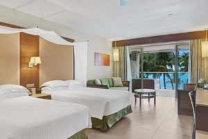 Ocean Front Premium Level Junior Suite at Bavaro Palace